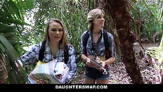 DaughterSwap- Nasty Daughters-in-law Plow Dads on Camping Tour