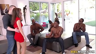 Multiracial Fuck-a-thon and Buttfuck Fuck-fest with Alana Cruise