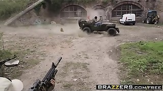 Brazzers - Adult movie stars Like it Hefty - Stiffy Of Duty A Hardcore Parody gig starring Jasmine Jae Monique Alex