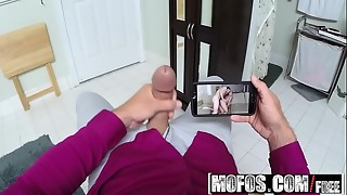Mofos - Splooged Childminders - Mummy and Spinner Three-way starring