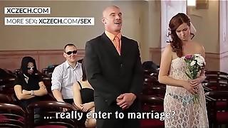 Wild czech wedding hump soiree - XCZECH.com