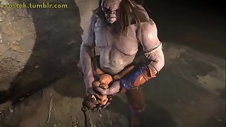 Brief 3 dimensional Monster Porno Compilation