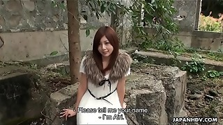 Fancy Chinese nubile is kidnapped and creampied in the open