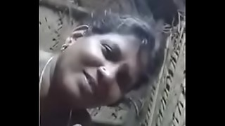 Tamil Village Aunty blowing man-meat