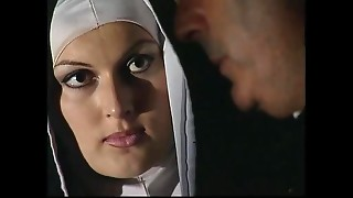 This nun has a filthy secret: she'_s a whore!