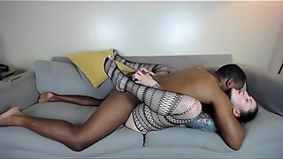 Webcam Session 2017-09-07 Dad Tore My Stocking Banged Me In a Stool
