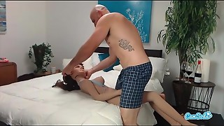 jmac gets bj assfuck and doggie-style from real girl before nutting in her butt