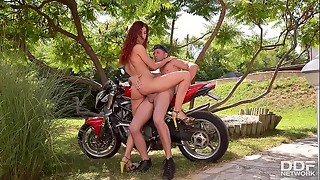Naughty Sandy-haired Shona Sea Screwed Deep by Biker