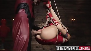 DigitalPlayground - The Offenders A Double penetration Hard-core Parody (Ariana Marie, Xander Corvus)