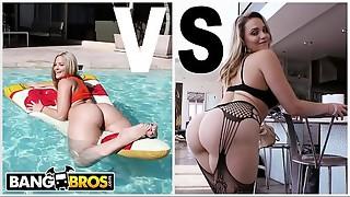 BANGBROS - Phat ass white girl Showdown: Alexis Texas VS Mia Malkova. Who Boinks Better? YOU DECIDE.