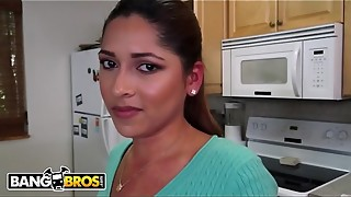 BANGBROS - Timid Latina Maid Camila Casey Peels off Bare And Gets Figgity Wiggity Plumbed