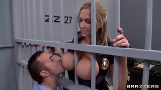 Alanah Rae nasty as pound from this beefy prisoner