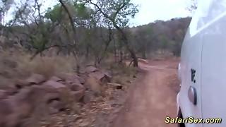 real african safari fuck-a-thon excursion