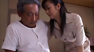 Asian Wifey Widow takes care of Father-in-Law (MrBonham)