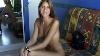 Splendid virginal schoolgirl bum-fucked