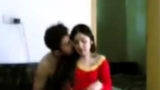 Pakistani police boyfrend with his wifey