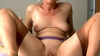 Mature damsel is greater quantity than yielding