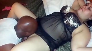 My plus-size wife's first-ever hotwife practice
