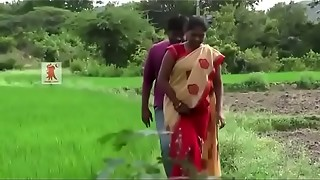 Huge Knockers aunty getting excited by her paramour