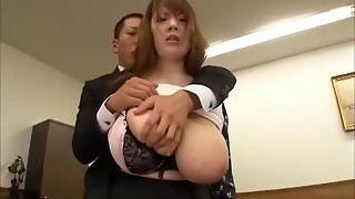 Exotic Chinese mega-slut Hitomi Tanaka in Insane Fingering, Office JAV clamp