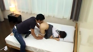 Incredible Chinese model Mizuho Uehara in Hottest College/Gakuseifuku, Point of view JAV tweak
