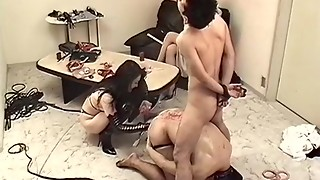 Sexy JAV censored hard-core video with impressive chinese broads