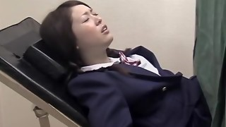 Chinese schoolgirl smashed by my trouser snake in spycam porno movie