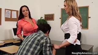 Ava Addams & Tanya Tate & Giovanni Francesco in My Very first Bang-out Schoolteacher