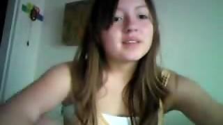 Appetizing guiltless teenager displays undies