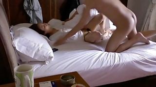 Fine Chinese duo spycam hook-up gauze