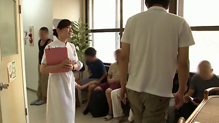 Chinese Nurse gives superb Fuck-fest Service