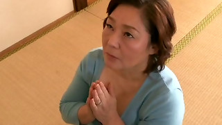 Mature Chinese Plus-size Shizuko Ouchi banged rock-hard