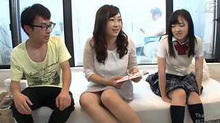 Asian Incest Game Bro ,Sister And Mom 3