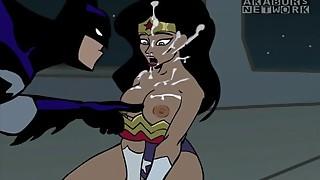 Batman Romps WonderWoman