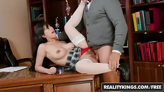 Reality Kings - European Orgy Soirees - Orbs And Culo - Lucia Nieto , Angie Milky
