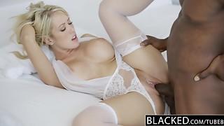 BLACKED Cuckold Wifey Capri Cavanni likes Bbc Internal ejaculation