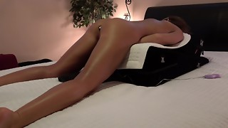 Unexperienced Wifey - Backside Buttplug - 4 Fake penises - 4 Spewing out Climaxes CAMERA RUNNING