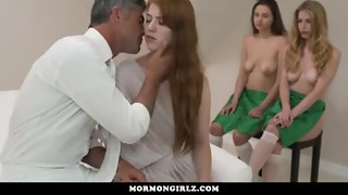 MormonGirlz- Pals Hold Her Down As She Loses Chastity