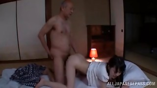 Pretty Chinese nubile with puny jugs Marin Aono spanked stiff