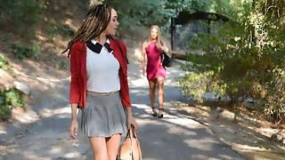 BlackValleyGirls- Milky Lady Gets Dumped For Preppy Black Teenage