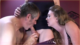 manmeat inhaling internal ejaculation cleaning hotwife spouse
