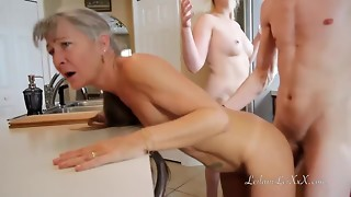 Freeze and Shut Up - Threeway Taboo Wish
