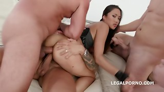 LegalPorno Trailer - BlackEnded with May Thai 4 milky then 4 ebony