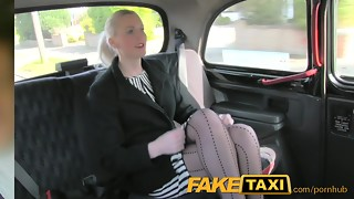 FakeTaxi Wondrous blond in fuck-fest bribe