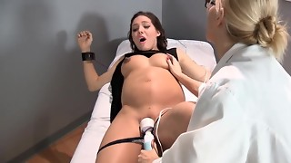 Sadie Holmes Prego - Physician helps her patient to reach Climax
