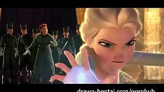 Frozen Anime porn
