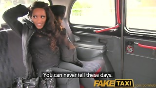 FakeTaxi Runaway black bj's man rod to buy drivers muffle