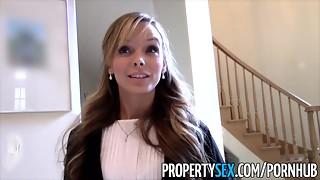 PropertySex - Killer small realtor drills perv pretending to buy mansion