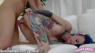 BurningAngel Seth Gets In Big-Tits Goth Girl