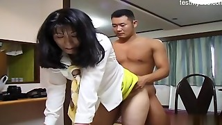 Steaming housewife violent orgy